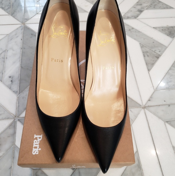 8be6bce9831 Authentic Christian Louboutin Apostrophy Pump